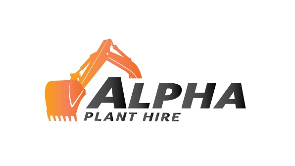 Alpha Plant Hire Logo Design