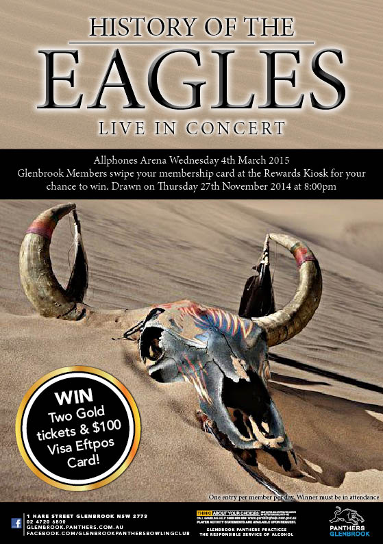 Glenbrook Bowling Club Eagles Concert Giveaway