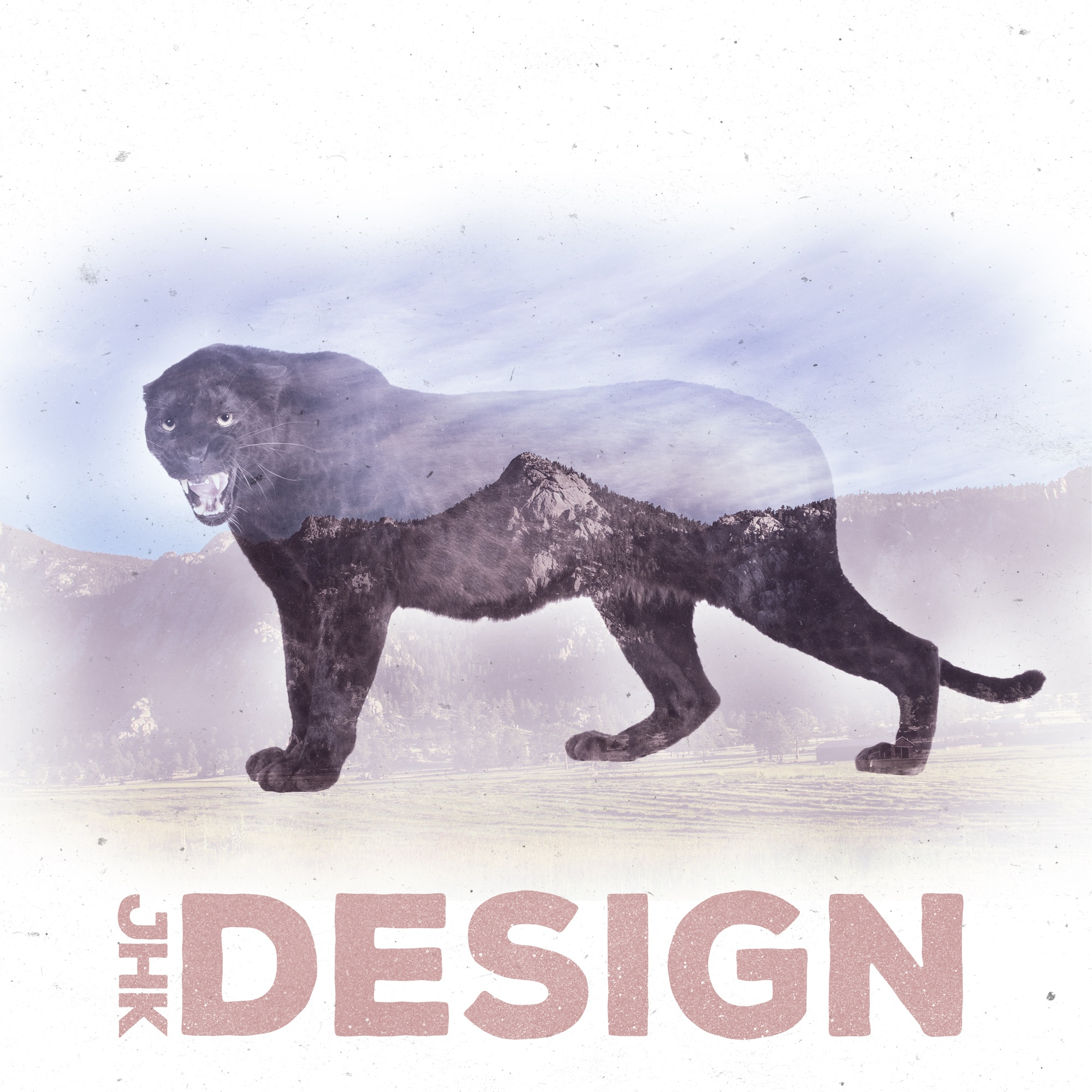 JHK Design Original Double Exposure Panther