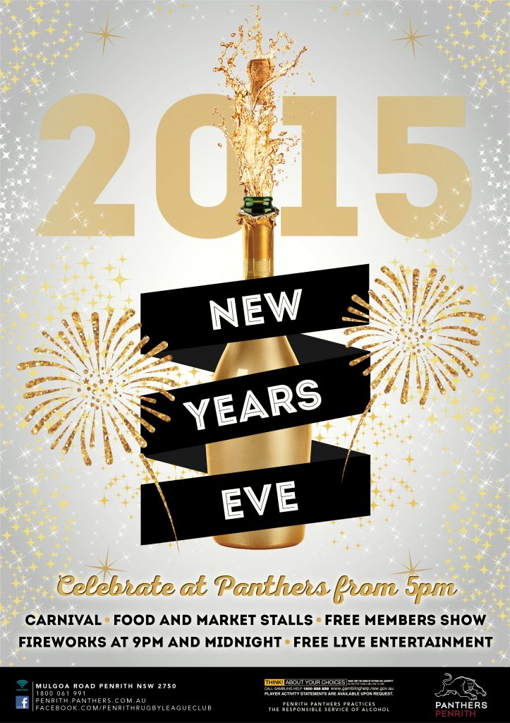 Panthers New Years Eve Event Design