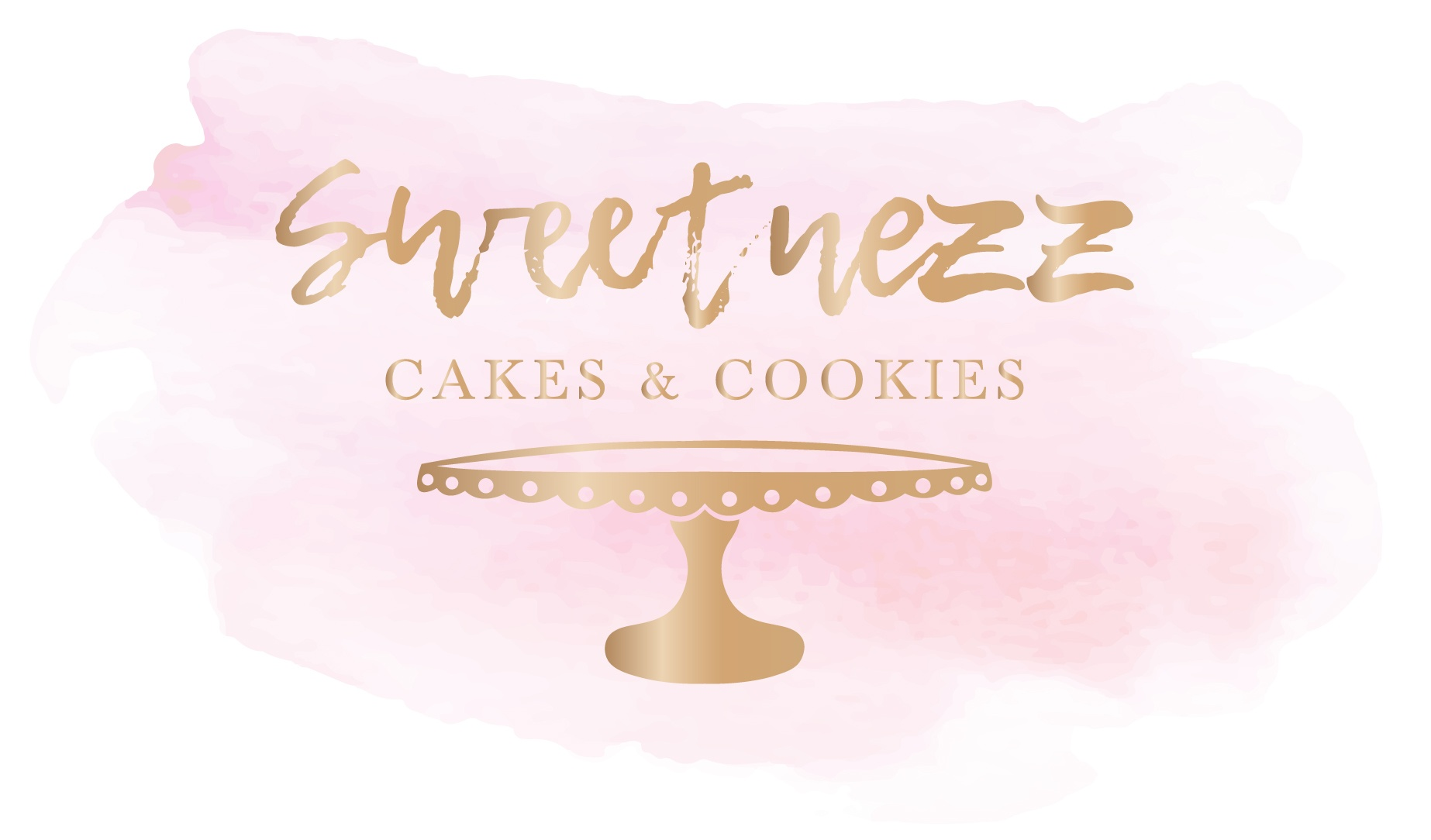 Sweet Nezz Cakes and Cookies Logo Design