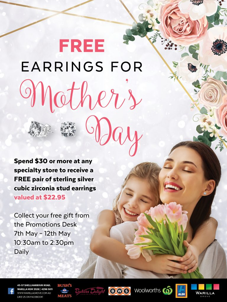 Warilla Grove Mothers Day Promotion