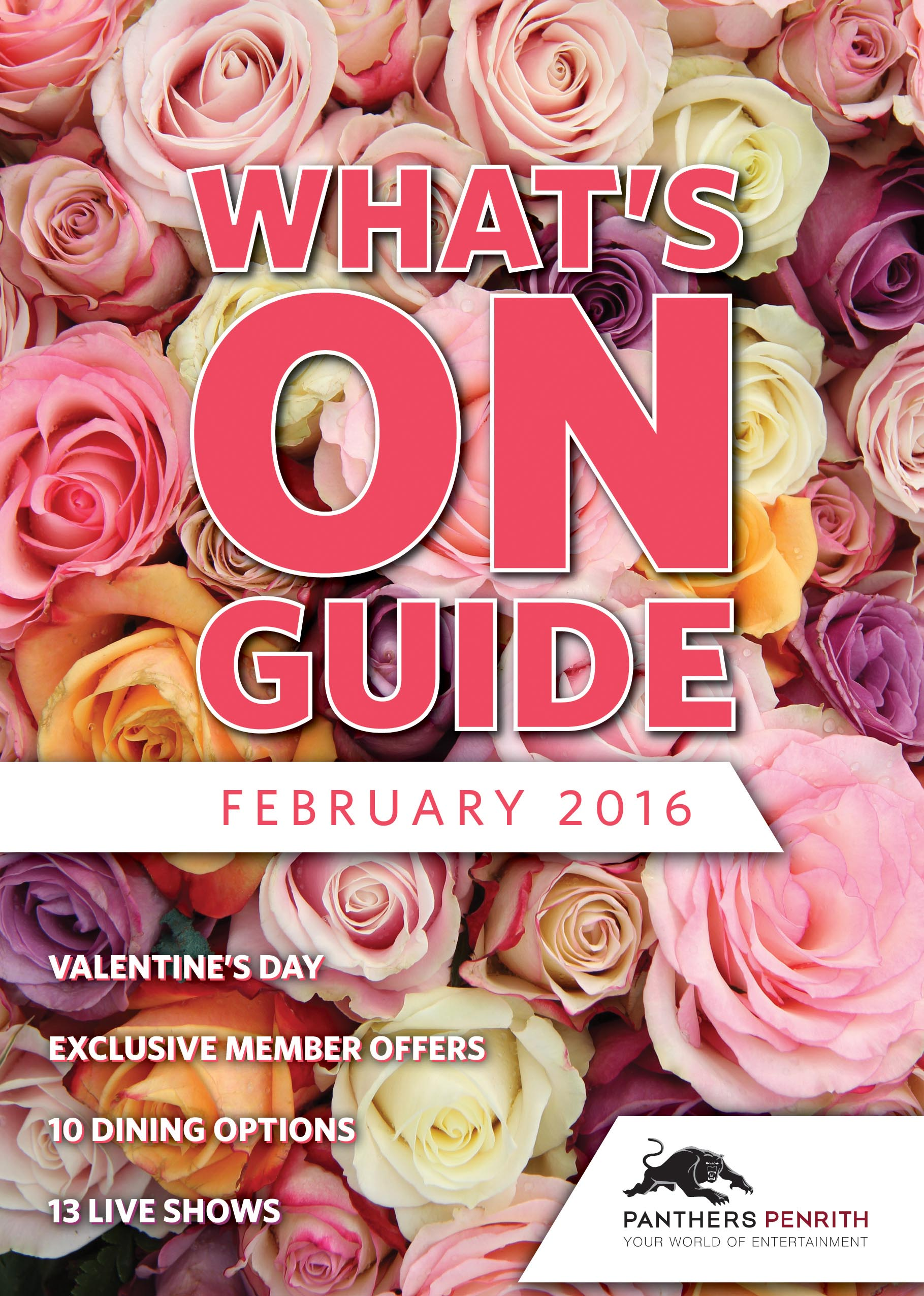 Panthers Whats On Guide Feb 2016