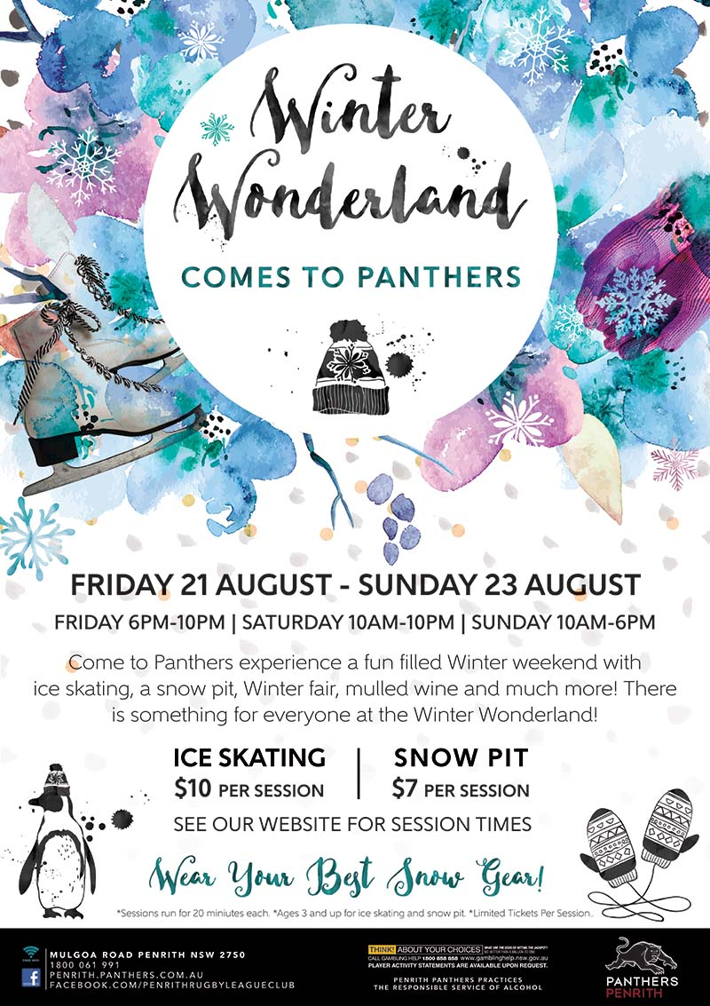 Penrith Panthers Winter Wonderland Design