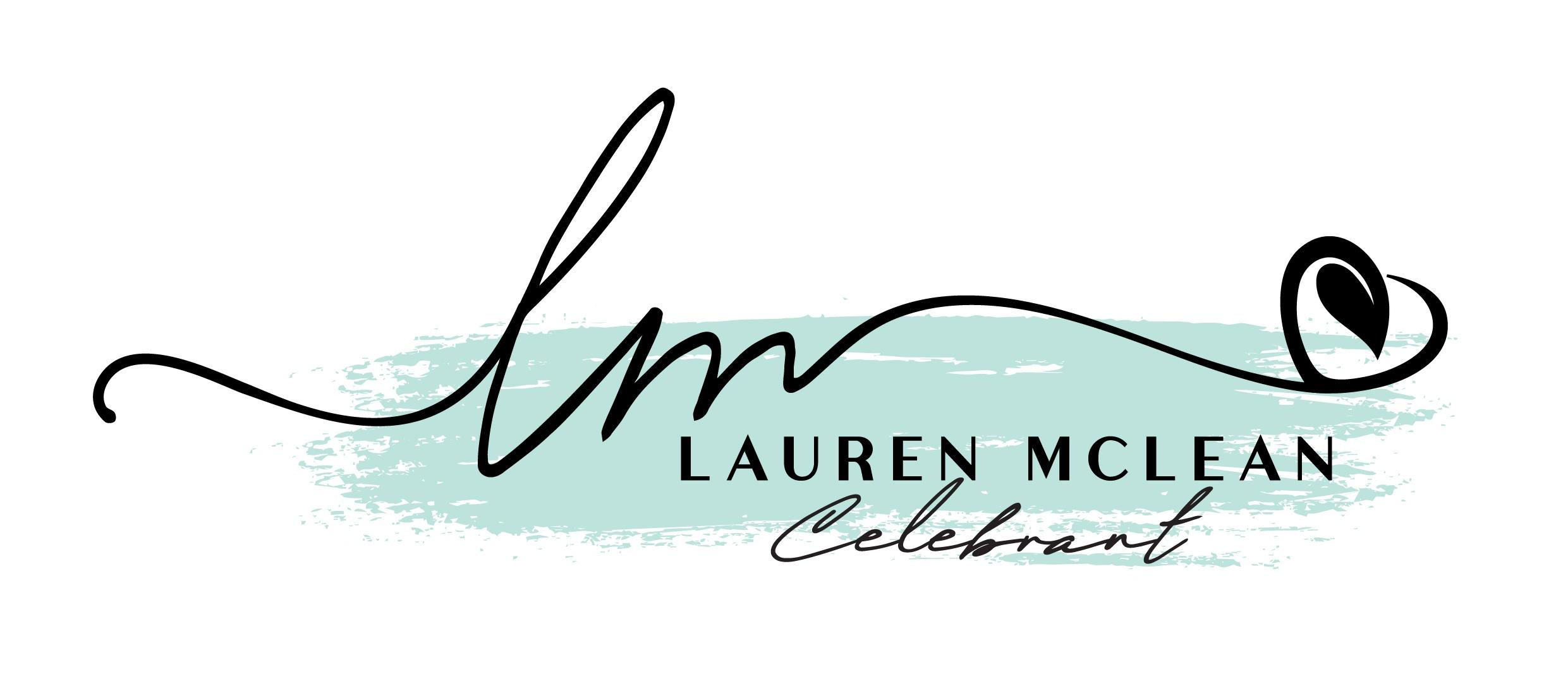 Lauren McLean Celebrant Logo Design