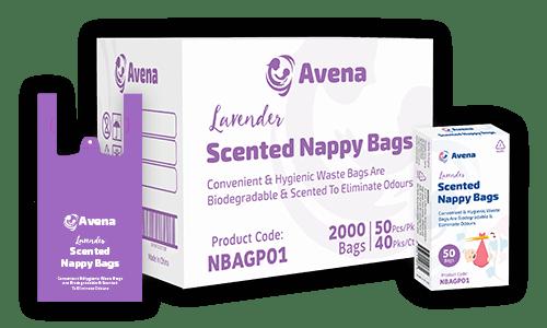 Nappy Bag Packaging Design
