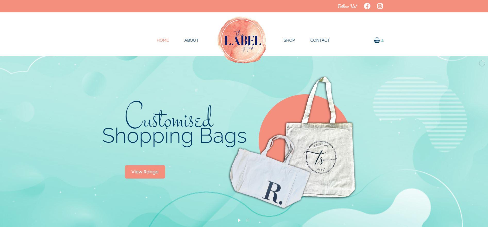 The Label Hub Website